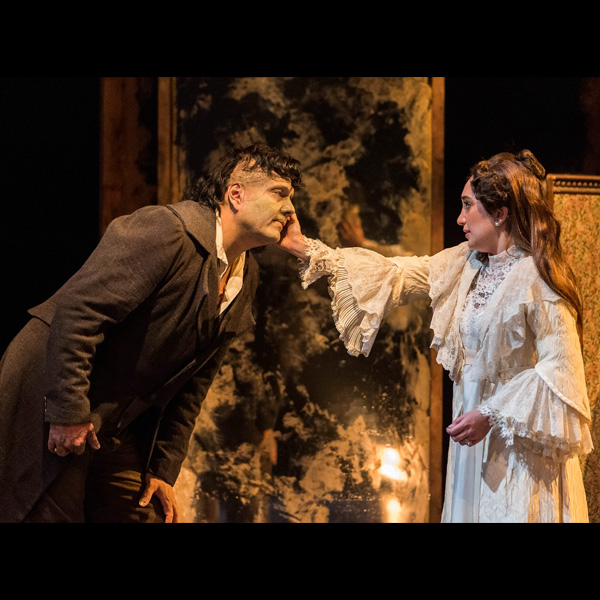 Michael Manuel & Erika Soto in Frankenstein at ANoise Within.