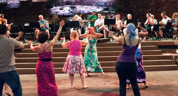JAM Sessions-hula. Photo courtesy of the Ford Theatres.