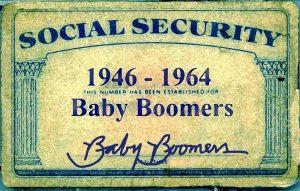 Soc Sec card.Baby-Boomers
