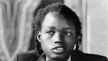 The late Dambudzo Marechera (Author of House of Hunger)