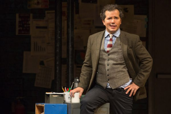 John Leguizamo in a cocky moment in Latin History for Morons at The Ahmanson Theatre.