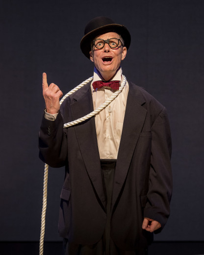Bill Irwin in On Beckett at the Kirk Douglas Theater in Cilve City.