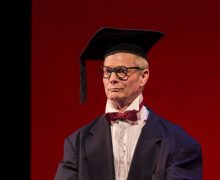 Bill Irwin in On Beckett at the Kirk Douglas Theatre in Culver City.