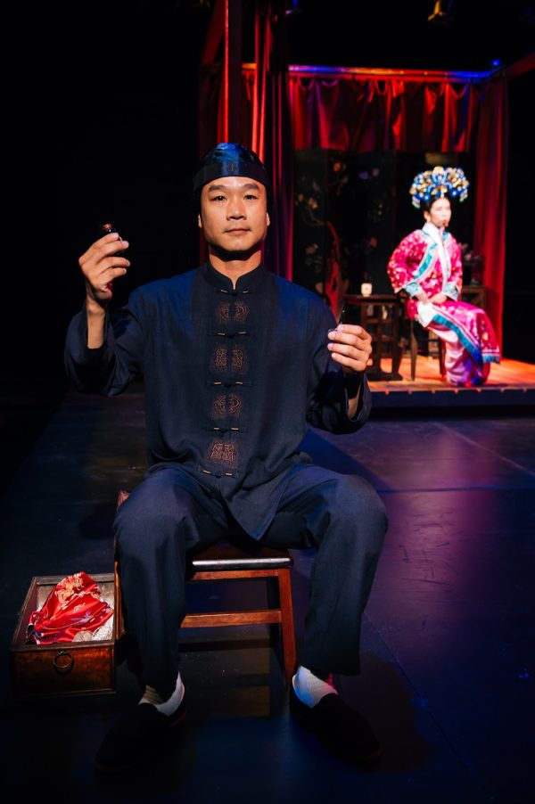 Trieu Tran in The Chinese Lady at the Greenway Court Theatre. Photo by Michael C. Palma.