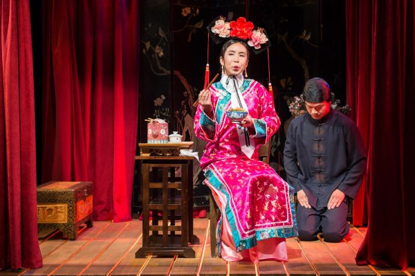 Amy Chu & Trieu Tran in The Chinese Lady at the Greenway Court Theatre. Photo by Michael C. Palma.