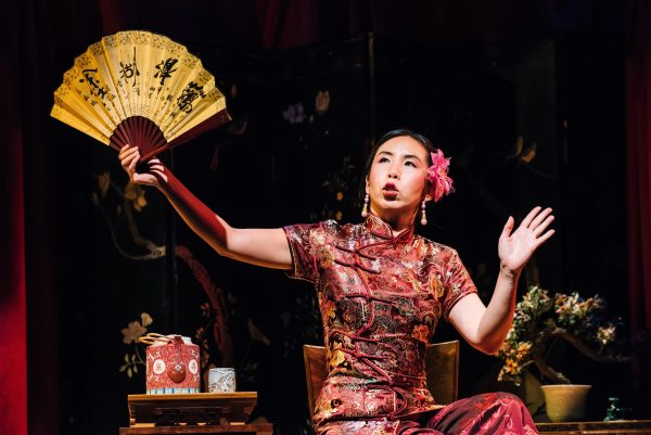Amy Chu in The Chinese Lady at the Greenway Court Theatre. Photo by Michael C. Palma.