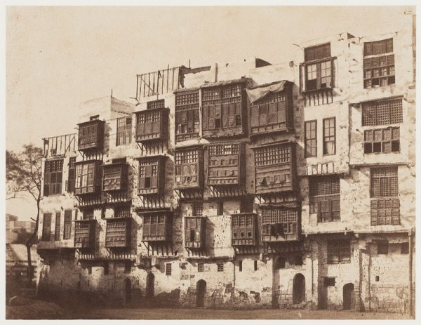 John Beasley Greene, View of Houses in Cairo, 1854-55, Canadian Centre for Architecture, Montreal.
