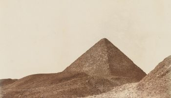 John Beasley Greene, Giza, Pyramid of Cheops, or Khufu, 1853-54, National Gallery of Art, Washington, D.C., purchased as a gift of W. Bruce and Delaney H. Lundberg.