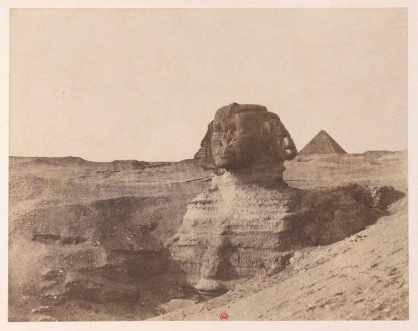 John Beasley Greene, Giza, Sphinx, 1853-54, Bibliotheque national de France, Paris.