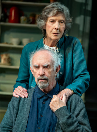 Jonathan Pryce and Eileen Atkins in The Height of the Storm Credit: Joan Marcus