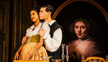 Vella Lovell & Huy Iskandar in Witch at The Geffen Playhouse