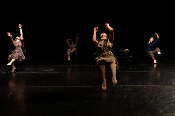 Deborah Rosen and Dancers. Photo by Denise Leitner.