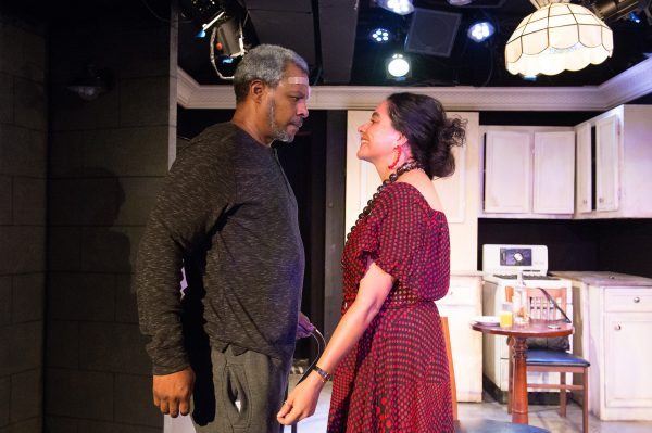 Montae Russell & Liza Fernandez in Between Riverside and Crazy at The Fountain Theatre.