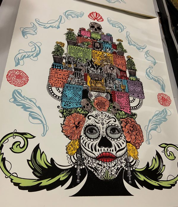 Day of the Dead poster by Kabrito