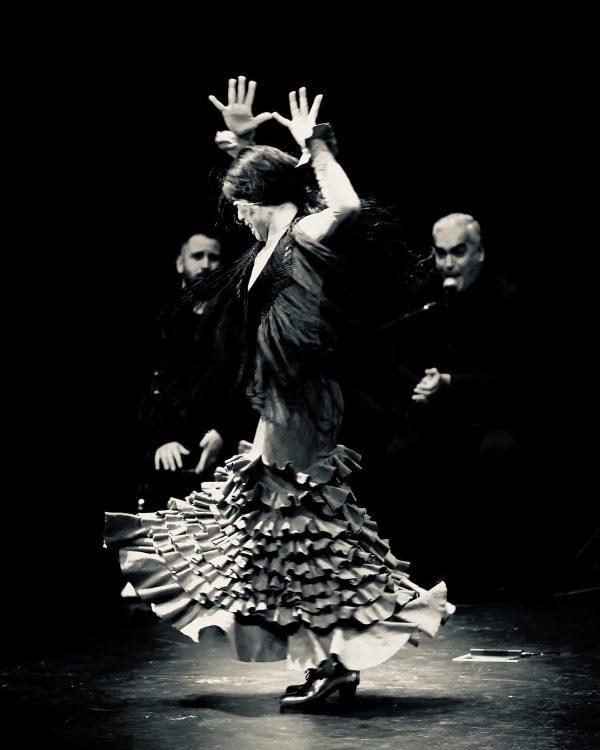 Forever Flamenco's Melissa Cruz. Photo by Christine Fu.