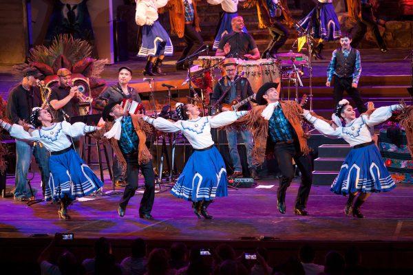 Grandeza Mexicana Folk Ballet Company. Photo by Gennia Cui.
