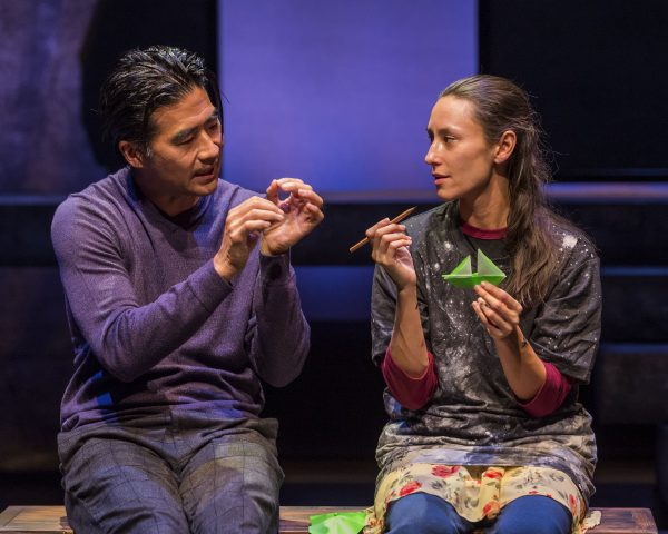 Ryun Yu & Chelsea Kurtz in How the Light Gets In at Pasadena's Boston Court.