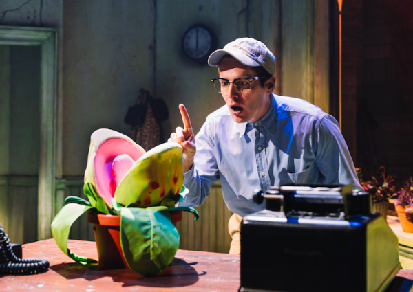 Jonathan Groff in Little Shop of Horrors. Credit: Emilion Madrid-Kuser