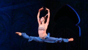 """Mariinsky Ballet in """"La Bayadere.""""  Photo by Natasha Razina."""
