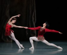 "Mariinsky Ballet in ""Rubies.""  Photo by Natasha Razina."