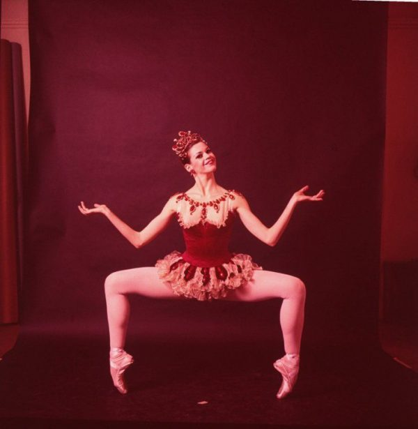 "Patricia Neary in ""Rubies."" Photo courtesy of New York City Ballet."
