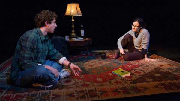 WIll Hochman and Mary-Louise Parker in The Sound Inside. Credit: Jeremy Daniel