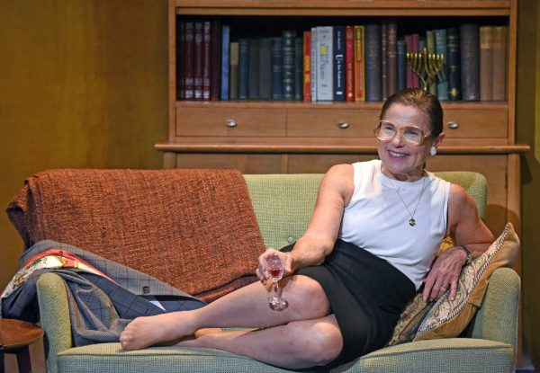 Tovah Feldshuh in Sisters In Law at the Wallis Theatre in Beverly Hills.