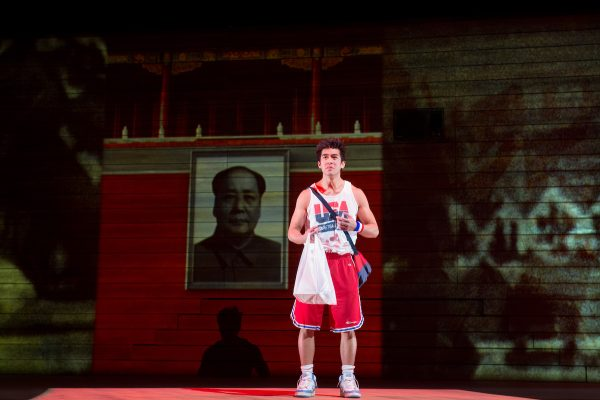 Justin Chien in The Great Leap at The Pasadena Playhouse.