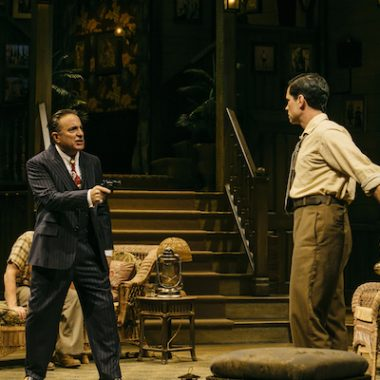 Andy Garcia as Johnny Rocco in Key Largo at the Geffen