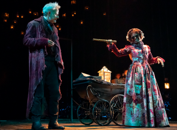 Campbell Scott and LaChanze in A Christmas Carol. Credit: Joan Marcus