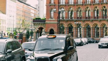 London with taxi