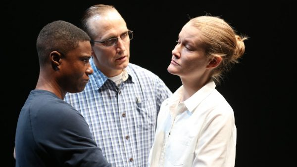 TL Thompson, Pete SImpson, and Emily Davis in Is This a Room Credit: Carol Rosegg