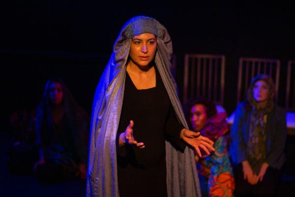 Elmira Rahim in Seven at Atwater Village Theatre.