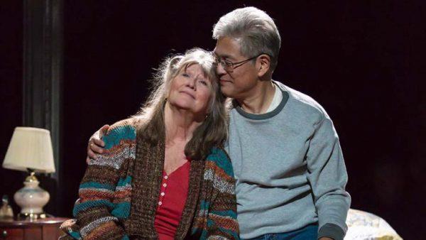 Judith Ivey and Ken Marasaki in Greater Clements. Credit: Matthew Murphy