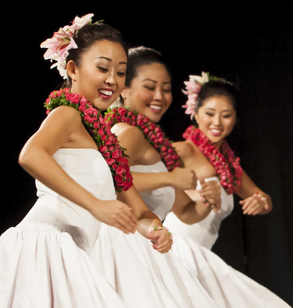 Hālau Keali'i o Nālani. Photo courtesy of the artists.