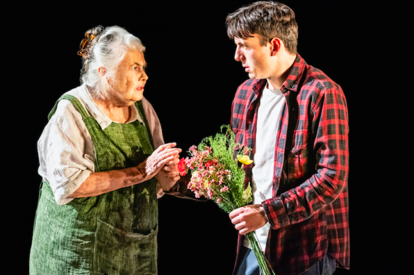 Lois Smith and Samuel H. Levine in The Inheritance. Credit: Matthew Murphy for MurphyMade.