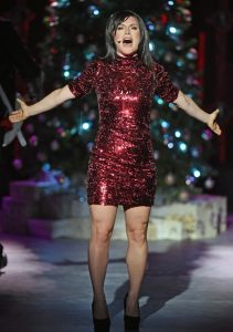 "Carrie Manolakos as Natalie in ""Love Actually Live."""