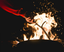 Outdoor fire. Image from Pixabay.