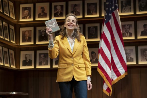 Maria Dizzia in What the Constitution Means To Me at the Mark Taper Forum.