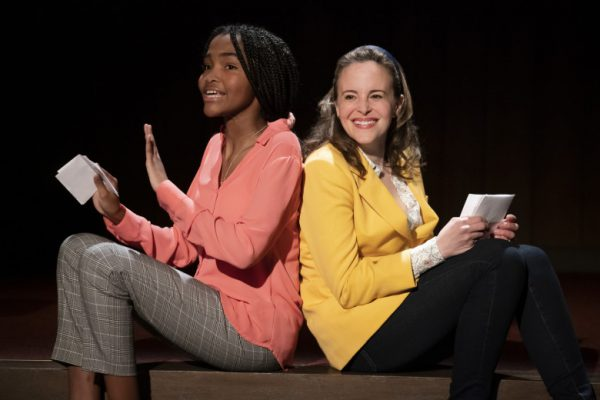Rosdely Ciprian & Maria Dizzia in What the Constitution Means To Me at the Mark Taper Forum.