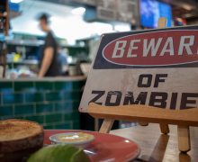 Beware of zombies. Photo by Chris Hall via Unsplash.