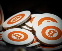 Bitcoin chips; image by Harrison Kugler via Unsplash.