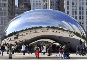"""Cloud Gate,"" Chicago"