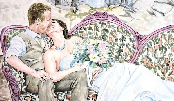 Custom romance painting