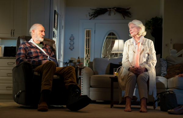 James Cromwell and Jane Alexander in Grand Horizons. Credit: Joan Marcus