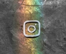 Instagram logo art. Image by lalo Hernandez via Unsplash.
