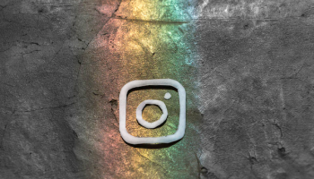 Instagram logo art. Image by lalo Hernandez via Unsplash.