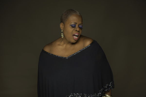 Lillias White performs her cabaret act at the Samueli