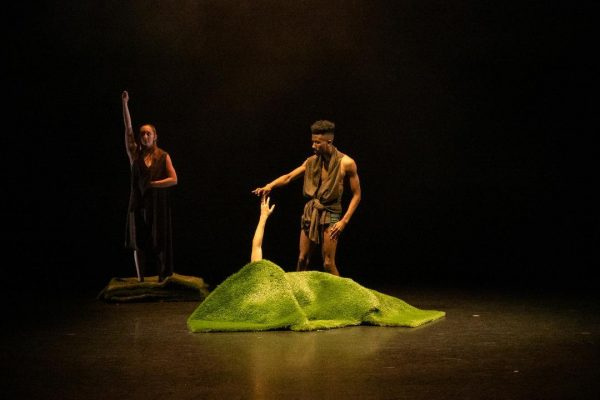 "Odyssey Dance Festival's ""Tethering."" Photo by Brian Wallenberg."