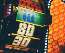 Slot machine; image by Krissia Cruz via Unsplash.